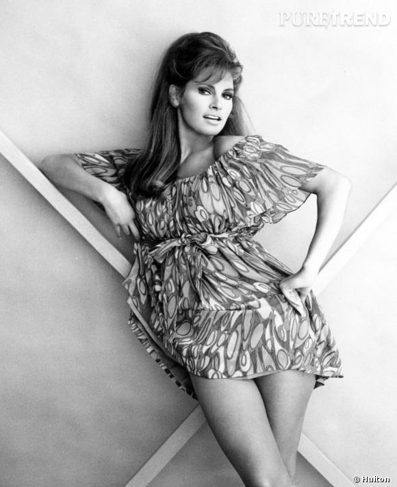 Raquel Welch, véritable bombe en 1967.