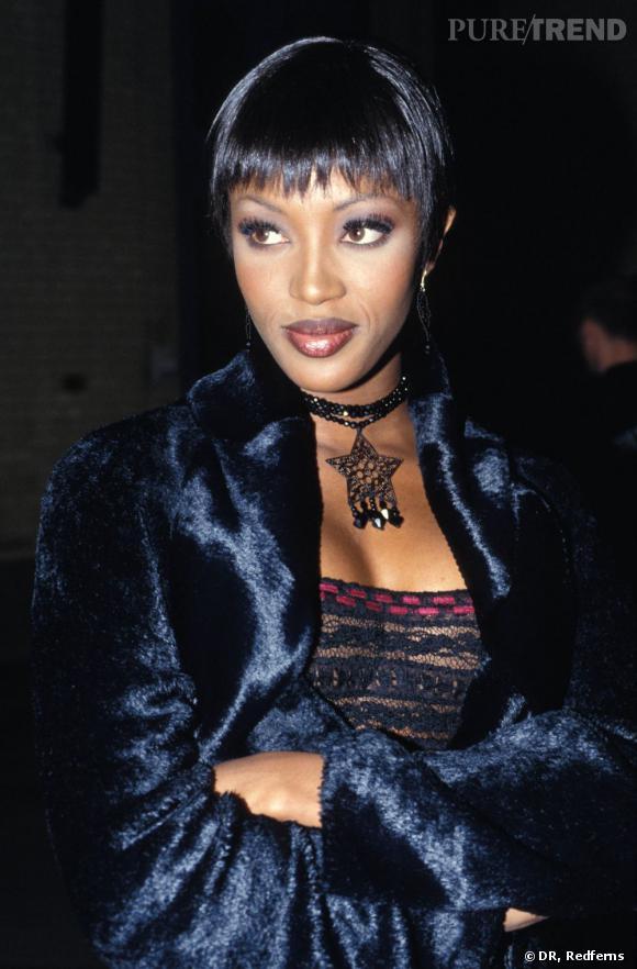 La panthère Naomi Campbell en 1990.