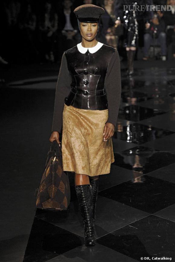 Quoi qu'il en soit, elle est sublime lors du défilé Louis Vuitton Automne-Hiver 2011/2012.