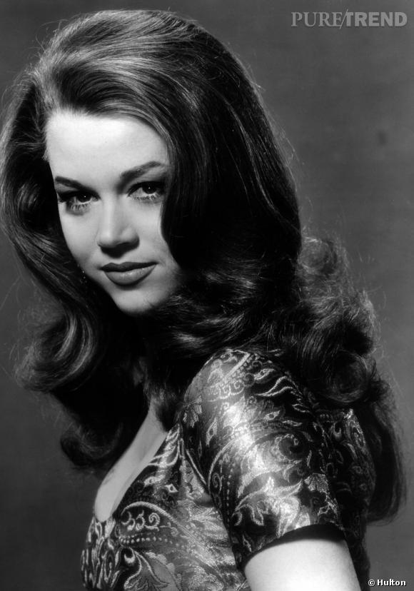 Dans les années 60, Jane Fonda est aussi connue pour sa beauté que pour son talent d'actrice.