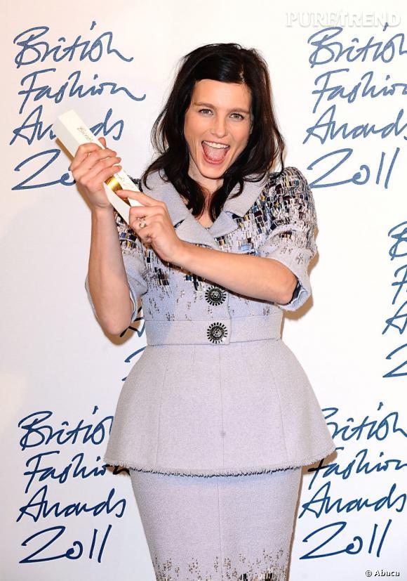 Tabitha Simmons, lauréate du prix talent émergent catégorie accessoires.