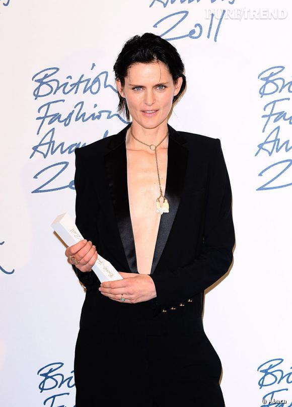 Stella Tennant lauréate du prix du meilleur mannequin.
