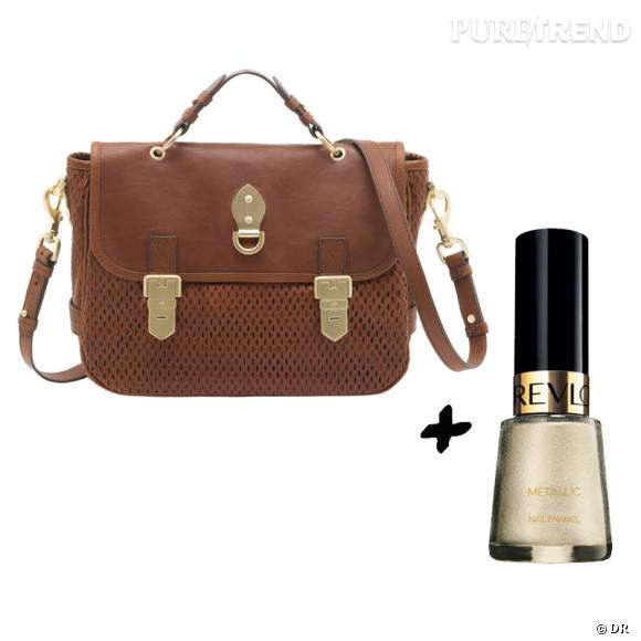 Vernis à ongles + it-bag : les it-combinaisons de l'Hiver    Sac  Tillie  Mulberry, 1120 €   Vernis à ongles  Metallic  Revlon, 12,50 €