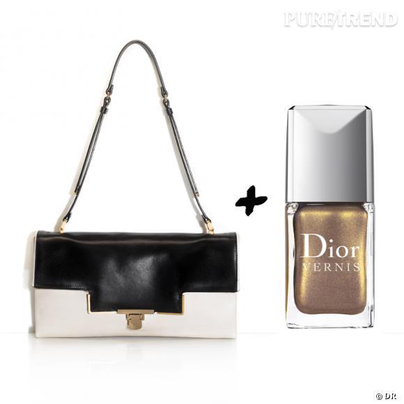 Vernis à ongles + it-bag : les it-combinaisons de l'Hiver    Sac Lanvin, prix sur demande   Vernis à ongles  Exquis  Dior, 20,70 €