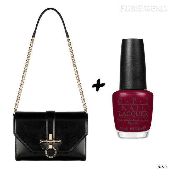 Vernis à ongles + it-bag : les it-combinaisons de l'Hiver    Sac  Obsedia  Givenchy, prix sur demande   Vernis à ongles  Meep Meep Meep  OPI, 13,90 €