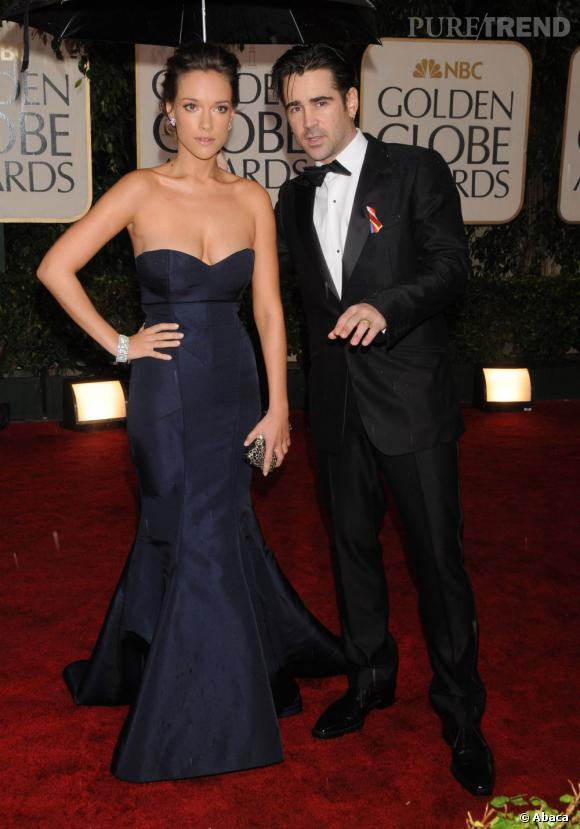 La maman du deuxième fils de Colin Farrell s'appelle Alicja Bachleda, rencontrée sur le tournage d'un film.