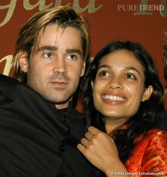 Rosario Dawson a vécu une courte histoire d'amour avec l'acteur durant l'année 2004.