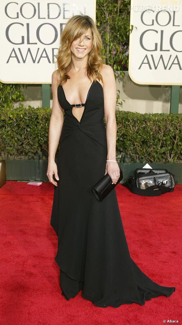 """Jennifer Aniston, élue """"Femme la plus sexy de tous les temps"""" par le magazine Men's Health."""