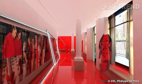 Exposition et boutique éphémère Alexandre Vauthier à la Galerie Joyce.