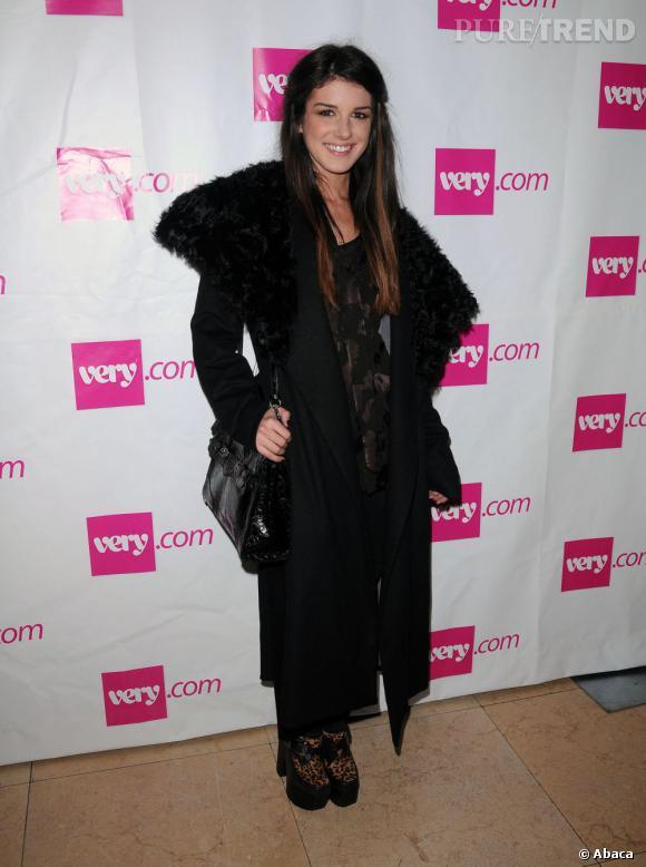 Shenae Grimes lors d'une soirée de lancement aux Etats-Unis pour la boutique en ligne Very.com.