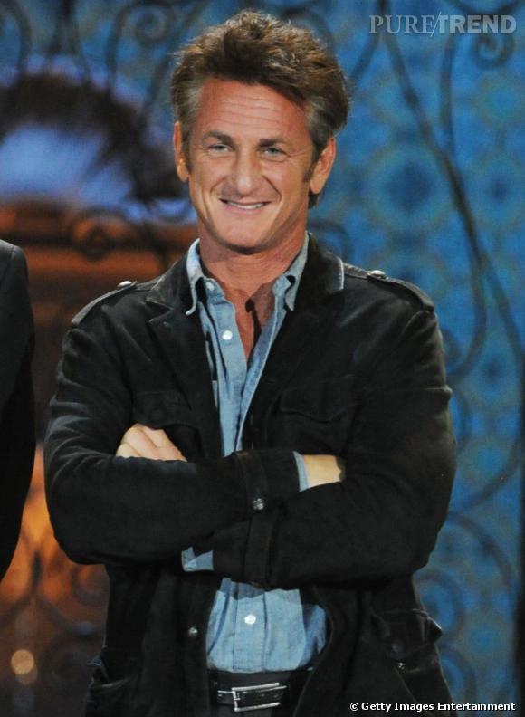 Sean Penn, le charme façon gueule cassée.