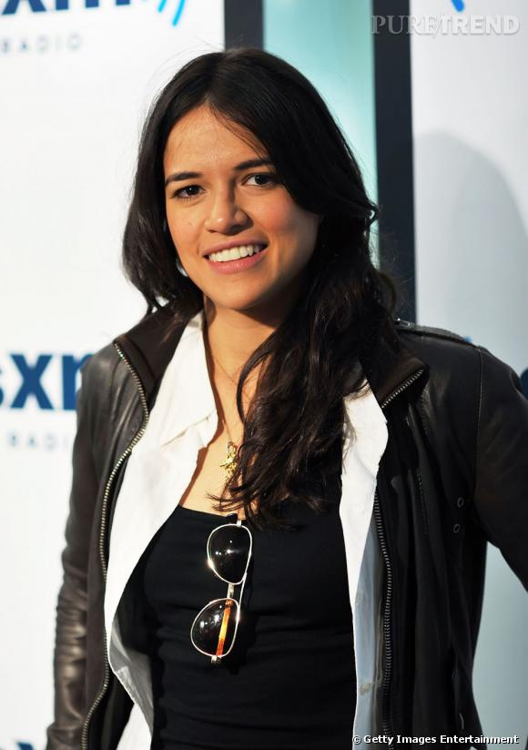 Michelle Rodriguez n'est pas fan du maquillage, on l'a compris.