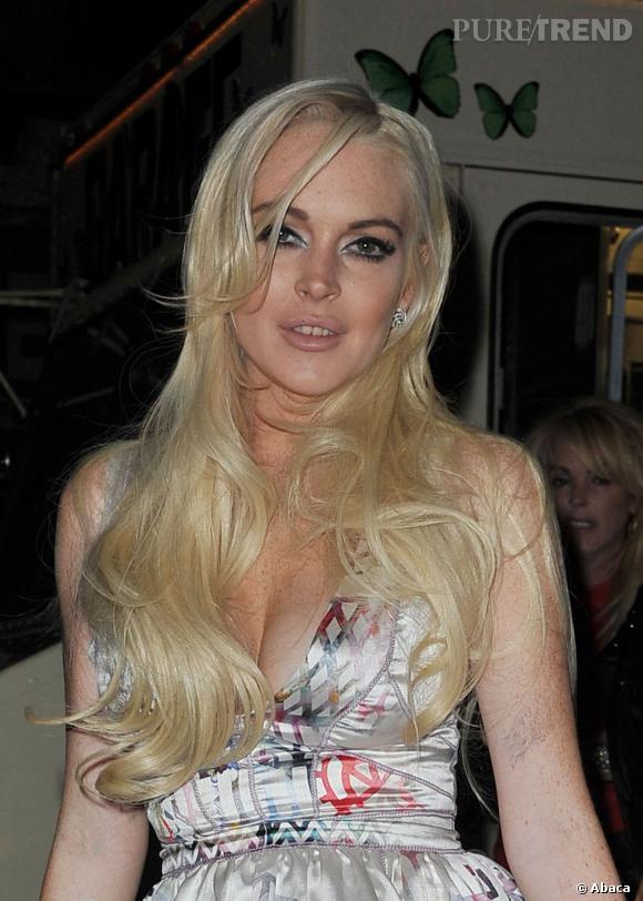 Lindsay Lohan récidive.