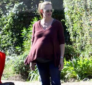 Jennifer Garner, enceinte, prend ses aises