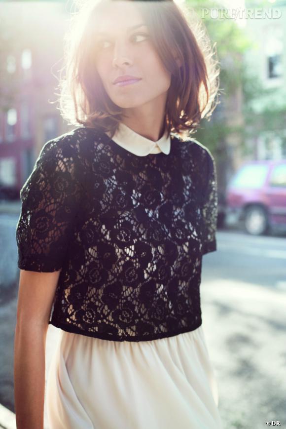 Alexa Chung pour Vero Moda, Printemps-Eté 2012.