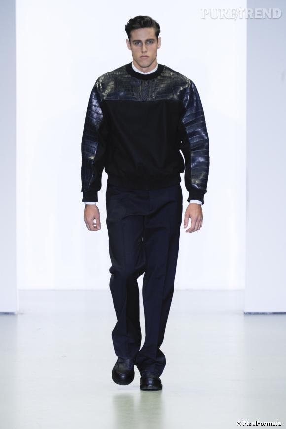 Défilé Calvin KleinMilan Automne-Hiver 2013