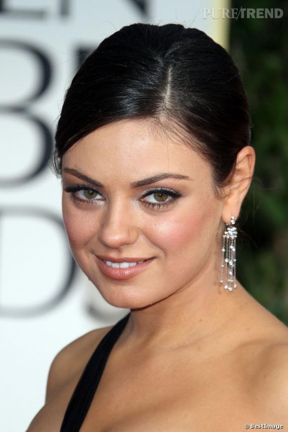 Mila Kunis, sublime, maquillée par Dior.