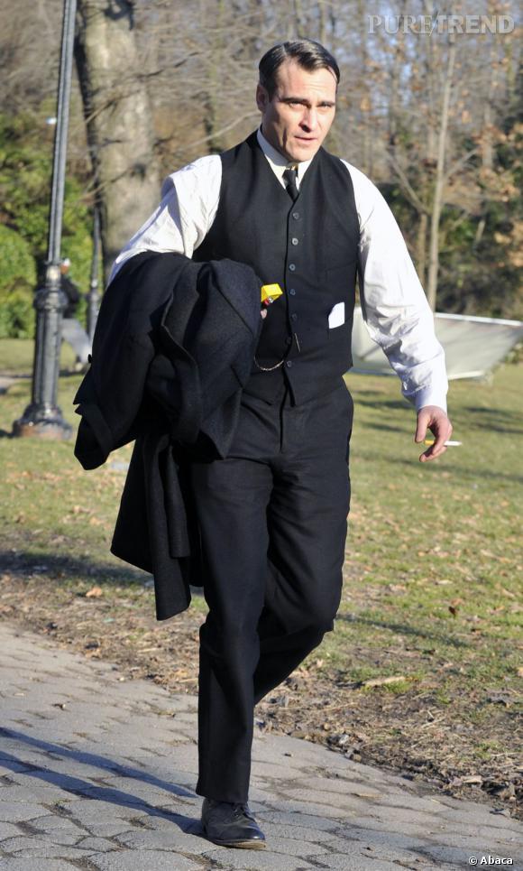 Joaquin Phoenix, élégance des années 20.