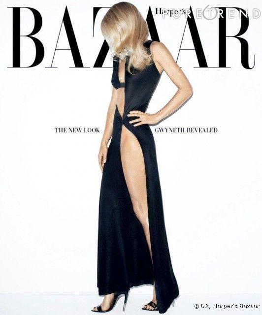 Gwyneth Paltrow pour Harper's Bazaar de mars 2012.
