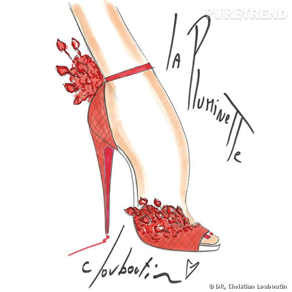 Collection capsule anniversaire de Christian Louboutin.