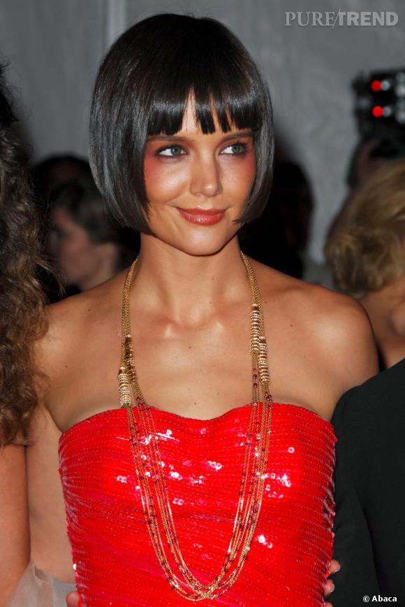 Katie Holmes ou le blush mal placé !