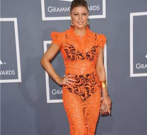 Fergie vs Shailene Woodley : la robe en dentelle transparente