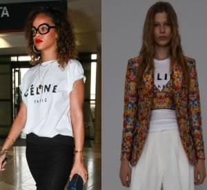 Wanted : le t-shirt logo Céline de Rihanna