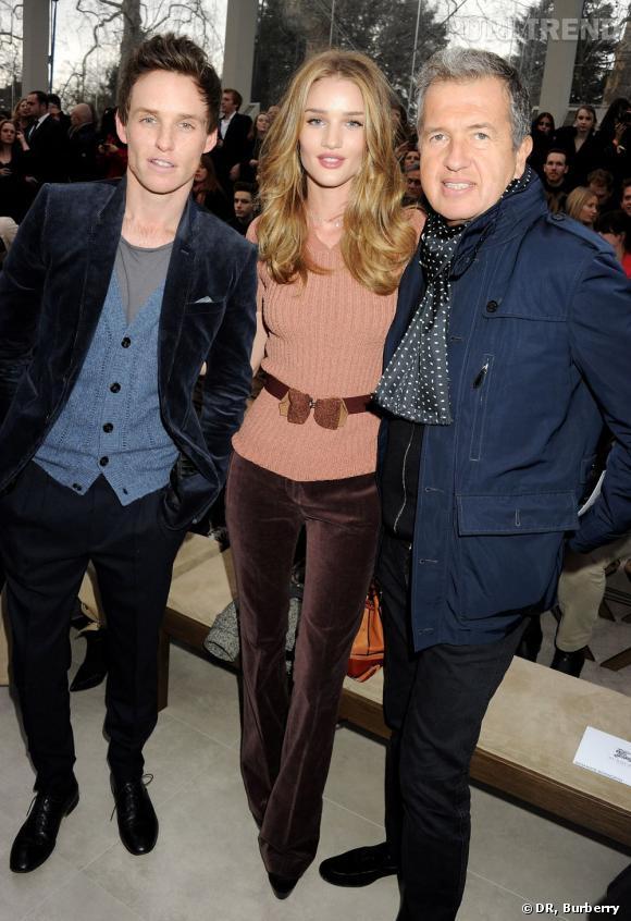 Egérie de la maison, Rosie Huntington-Whiteley copine avec Mario Testino et Eddie Redmayne.