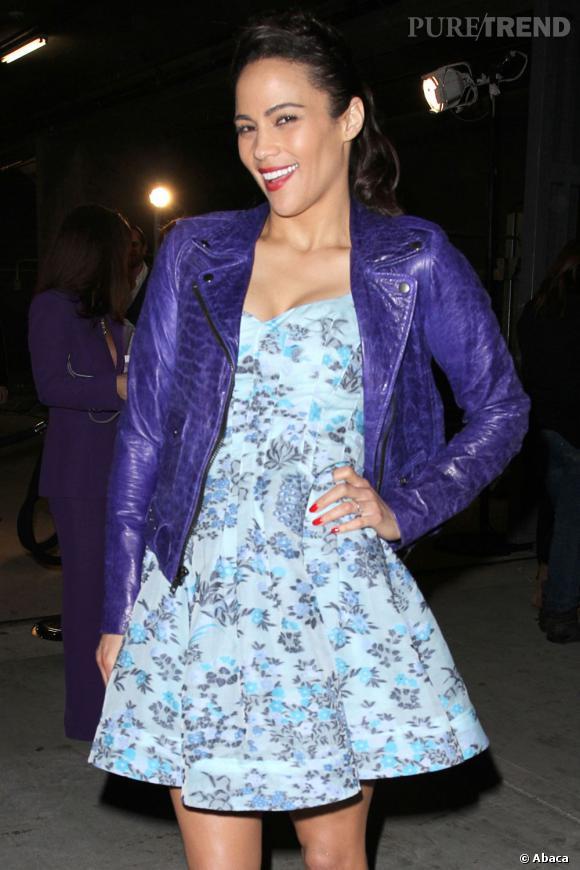 Paula Patton lors de la soirée Vanities organisée par Vanity Fair et Juicy Couture à Los Angeles.