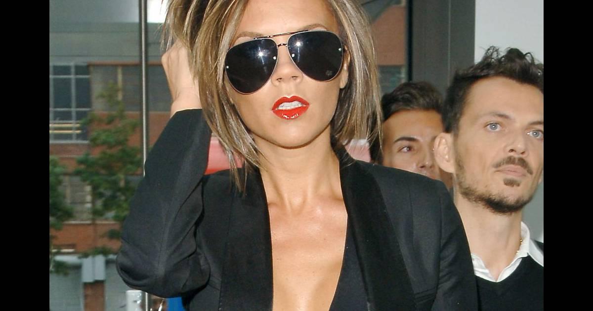 Victoria Beckham adopte le carré plongeant en plein boom de cette tendance en 2006 - Puretrend