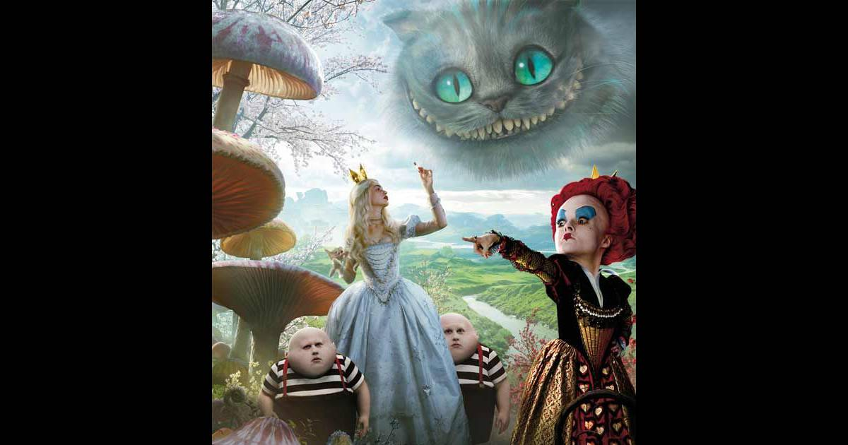 Alice Au Pays Des Merveilles Version Tim Burton