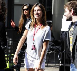 Elisabetta Canalis est une fille plutôt nature.