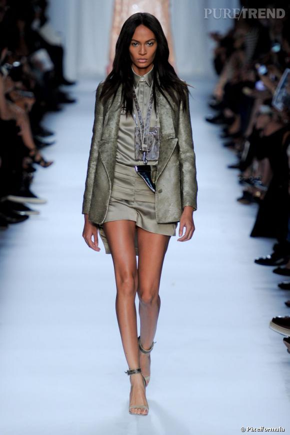 Joan Smalls foule le catwalk Givenchy Printemps-Été 2012. Ricardo Tisci est un fan.