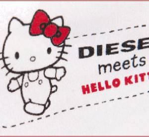 Hello Kitty s'affiche sur les jeans Diesel
