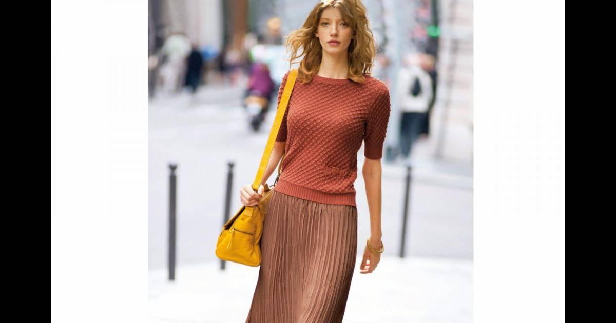 6e5b8d44619b37 Must have : la jupe longue plissée - Puretrend