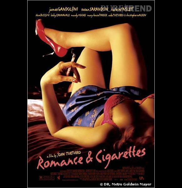 """Affiche du film """"Romance & Cigarettes""""."""