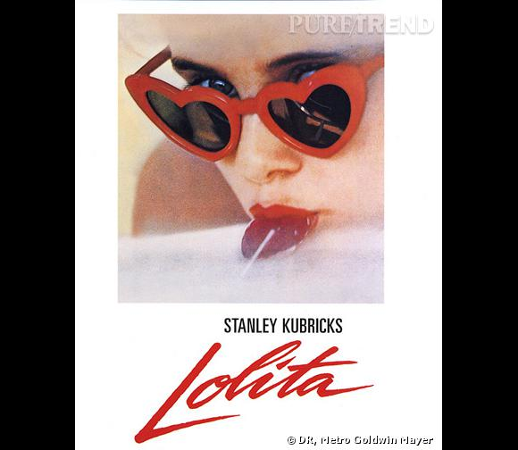 "Stanley Kubricks ose l'affiche sexy avec son film ""Lolita""."