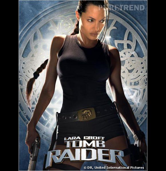 "Sexy Lara Croft dans le film ""Tomb Raider""."