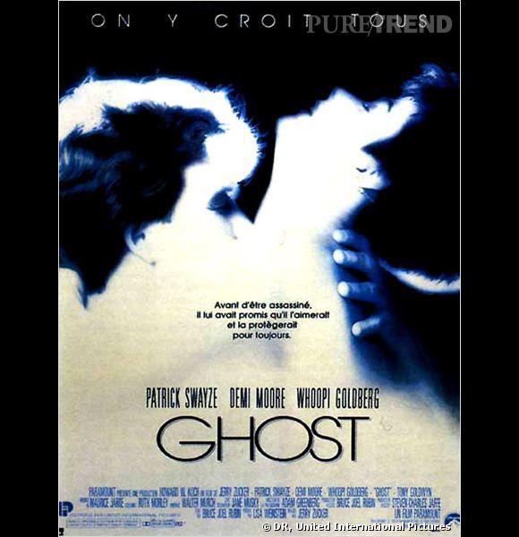 """Affiche du film """"Ghost"""", qui n'a jamais rêvé de Patrick Swayze ?"""