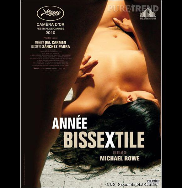 """Joli plan dénudé pour l'affiche du film """"Bissextile""""."""