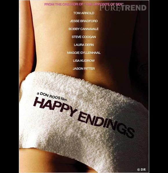 "Affiche du film ""Happy Endings""."