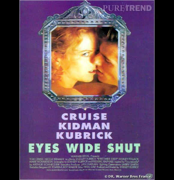 """Affiche du film """"Eyes Wide Shut""""."""