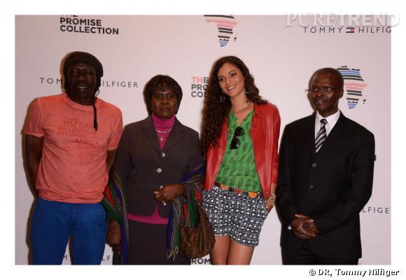 Geoffrey Oryema, Mme l'ambassadrice d'Ouganda et Yelena Noah