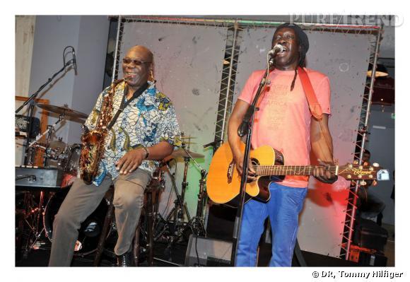 Manu Dibango et Geoffrey Oryema.