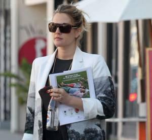 Drew Barrymore, le style enceinte