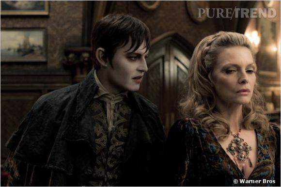 Johnny Depp et Michelle Pfeiffer, époustouflante dans le film.