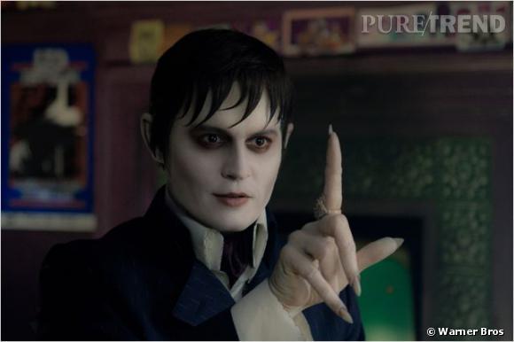 "Johnny Depp dans ""Dark Shadow""."