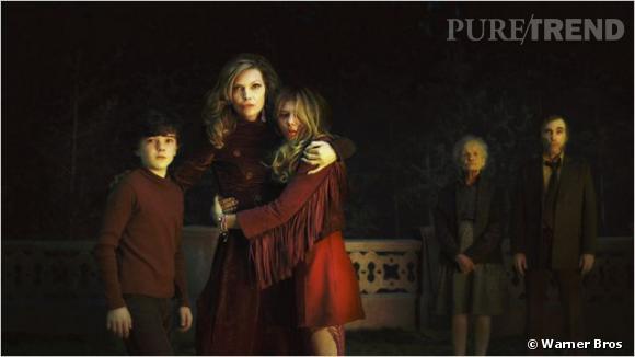 Michelle Pfeiffer, Chloë Moretz et Gully McGrath.