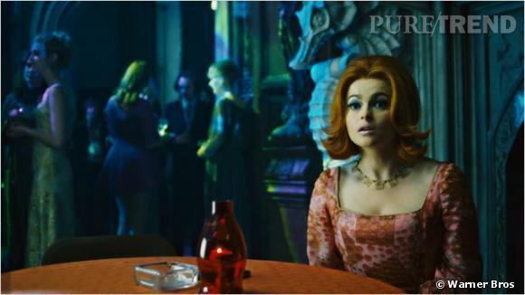 Helena Bonham Carter, dans le rôle d'un psychiatre alcoolique.
