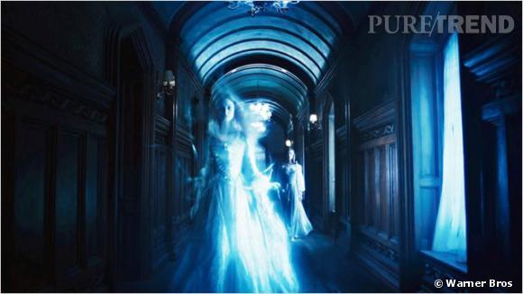 Les fantômes sont toujours bienvenus dans l'univers Tim Burton.